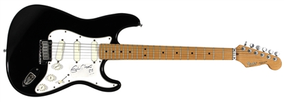 Eric Clapton 1988 Signed and Studio Used Black Fender Stratocaster Guitar