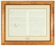 "Paul McCartney and George Martin Signed and Numbered ""Yesterday"" Lithograph"