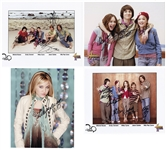 Miley Cyrus Group of Signed Photographs
