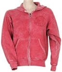 "Christina Aguilera Owned and Worn ""Jet"" Pink Hoodie Sweatshirt"