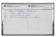 Prince Unreleased Cassette Demo with Handwritten Cassette Liner By Prince REAL LOA