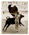 Spanish Bull Fighting Legend Manolete Photograph Collection