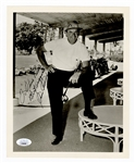 Sam Snead Signed and Inscribed Photograph JSA
