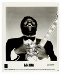 B.B. King Signed Photograph JSA