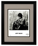 Jeff Beck Signed Photograph JSA