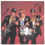 ZZ Top Signed 1992 Greatest Hits Promotional Poster JSA