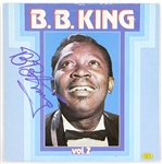 "B.B. King Signed ""BB King Vol. 2' Album JSA"