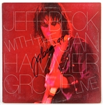 "Jeff Beck Signed ""Jeff Beck With The Jan Hammer Group Live"" Album JSA"