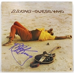 "B.B. King Signed ""Guess Who"" Album JSA"