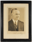 Calvin Coolidge Signed Photograph JSA