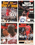 Important Michael Jordan Sports Illustrated Covers (4)