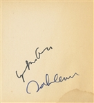 "The Beatles John Lennon and Yoko Ono Signed ""Grapefruit"" Book JSA & Frank Caiazzo Authenticated"