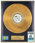 "Tom Petty Gold Record ""Full Moon River"" Presented to Tom Petty"