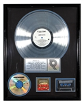 "Junior M.A.F.I.A. ""Gettin Money"" Original R.I.A.A. Platinum Album Award (Notorious B.I.G.)"