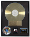 "Junior M.A.F.I.A. ""Conspiracy"" Original R.I.A.A. Gold Album Award (Notorious B.I.G.)"