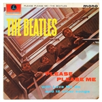"The Beatles ""Please Please Me"" 1ST UK Mono ""Black and Gold"" Pressing LP PMC 1202"