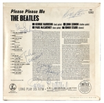 "The Beatles Signed ""Please Please Me"" Album With Brian Epstein Frank Caiazzo LOA"