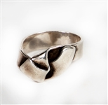 Tom Petty Owned & Worn Sterling Silver Ring