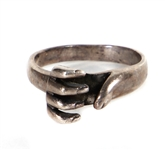 "Tom Petty Owned & Worn Sterling Silver ""Claw"" Ring"