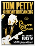 Tom Petty and the Heartbreakers with The Black Crowes Original Concert Poster