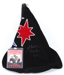 Fleetwood Mac Stevie Nicks Stage Worn and Signed Witch Hat JSA