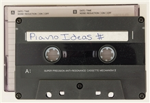 Michael Jackson Personal Piano Ideas Cassette Tape Recording