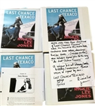 "Rickie Lee Jones Handwritten and Signed ""The Last Chance Texaco"" Lyrics with Hand-Annotated and Signed Original Galleys Used for Audio Book Recording"