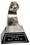 Joe DiMaggio 1941 56-Consecutive Game Hitting Streak Official MLB Trophy