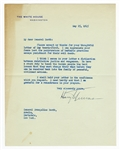 President Harry Truman Signed Letter with Exceptional Content JSA