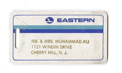 Muhammad Ali Personal Eastern Airlines Luggage Tag, Circa 1970's